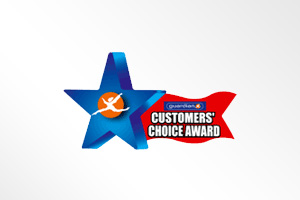 馬來西亞: Guardian Customers' Choice Award (Toothpaste Category)